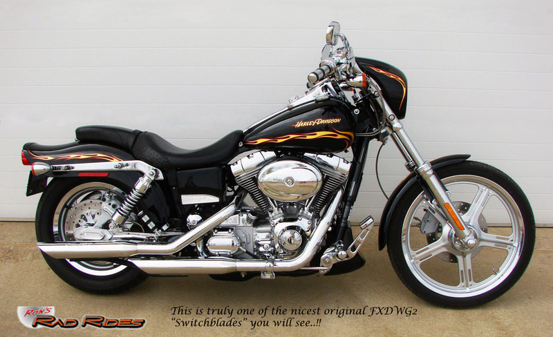 Used Harley Davidson Dyna Motorcycles For Sale For Sale California >> Ron's Rad Rides, LLC (Harleys, Choppers, Specialty Vehicles, Muscle Cars...) - 02 FXDWG3 Dyna ...