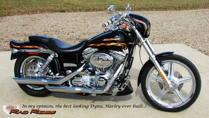 Sacramento Used Cars >> Ron's Rad Rides, LLC (Harleys, Choppers, Specialty Vehicles, Muscle Cars...) - 02 FXDWG3 Dyna ...